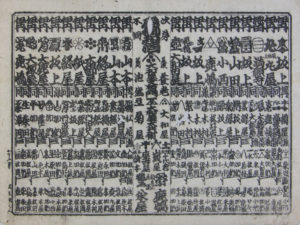 江戸時代の銘酒番付