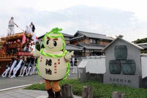 鴻池神社秋祭り たるまるとだんじり
